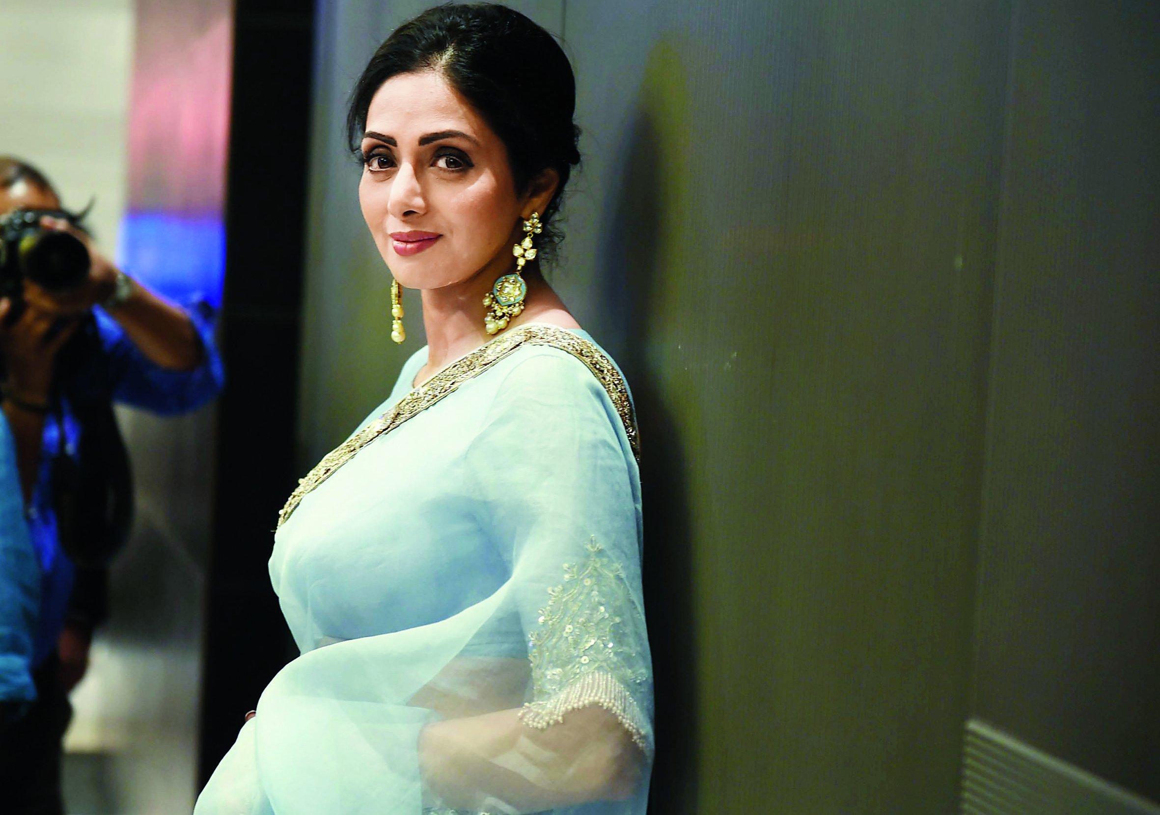 5 Times Sridevi Dazzled Us With Her Designer Sareesaa